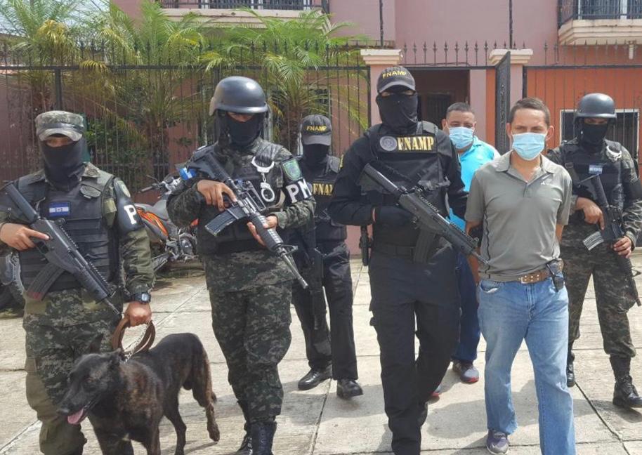 Atrapan potenciales traficantes de droga en Choluteca