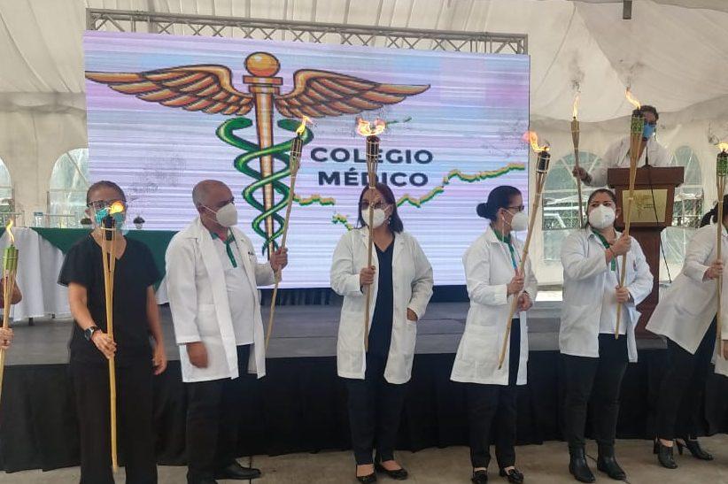 Colegio Medico de Honduras Realizan homenaje a los médicos que han fallecido por el COVID-19