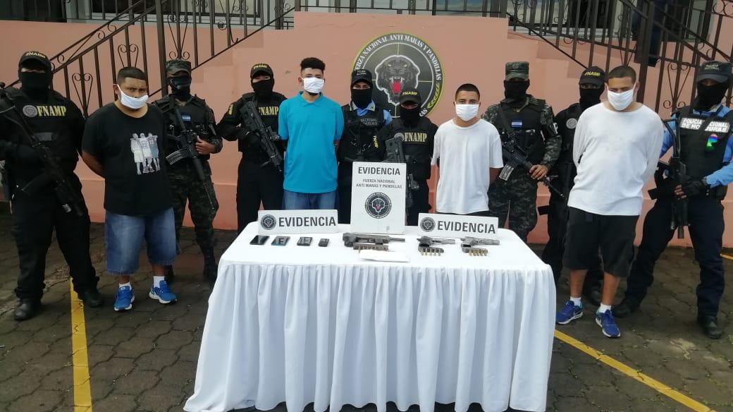 FNAMP captura a cinco miembros de la pandilla 18 implicados en «sicariato» y extorsión