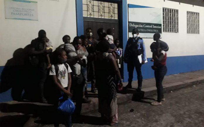 Detienen a 16 extranjeros en Choluteca.
