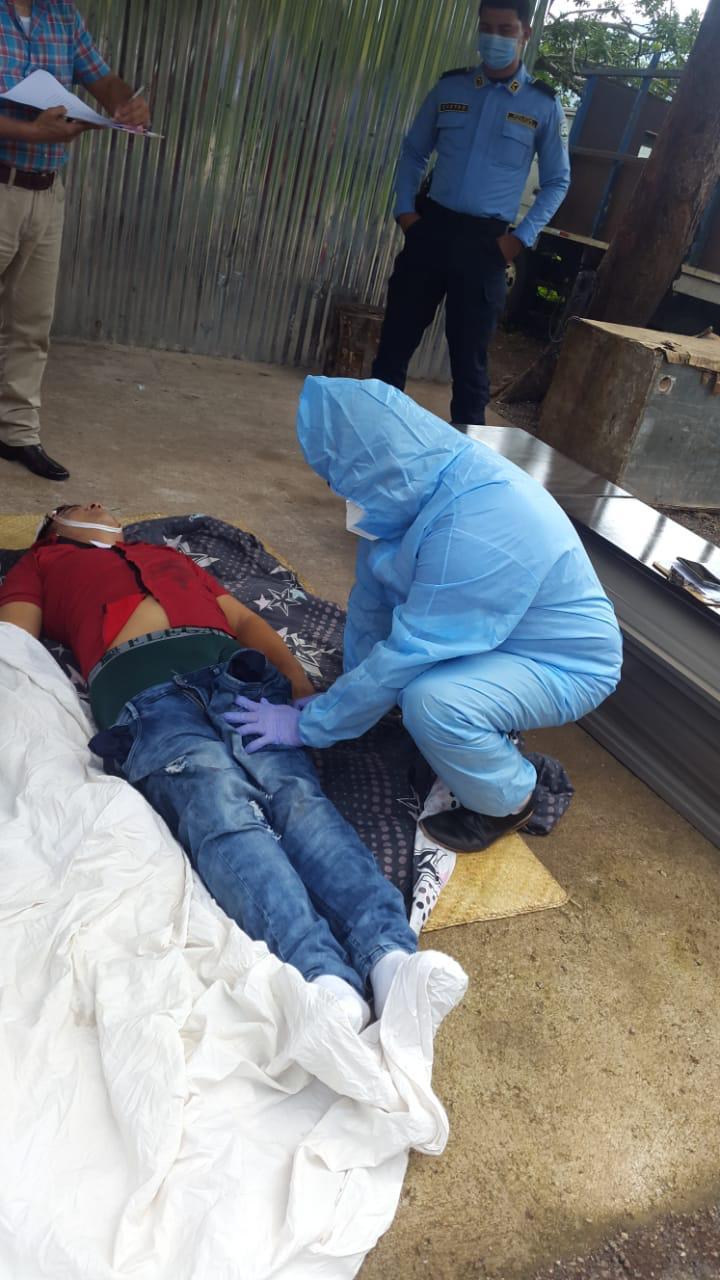 ¡Pelea de territorio!, joven de 26 años es acribillado en Choluteca