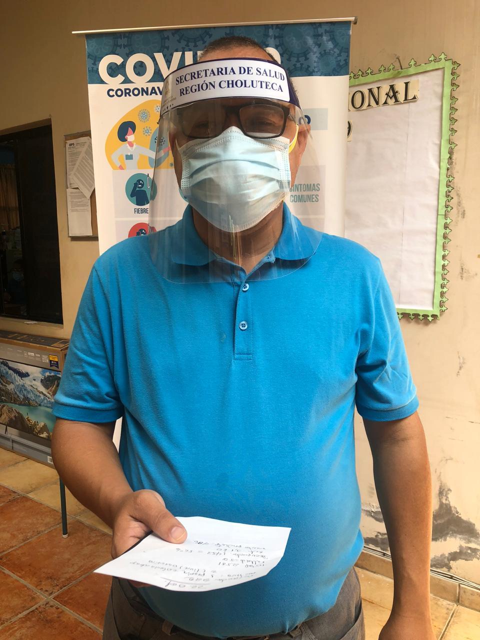 Choluteca supera 2,500 casos positivos de coronavirus