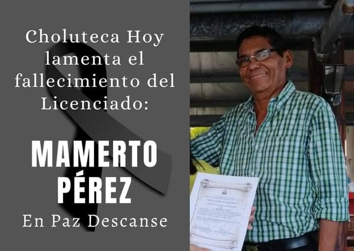 MAMERTO PEREZ  MUERE POR SOSPECHA DE COVID19
