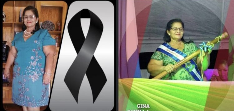Emotivo Ultimo Adiós a Alcaldesa de El triunfo, Choluteca.