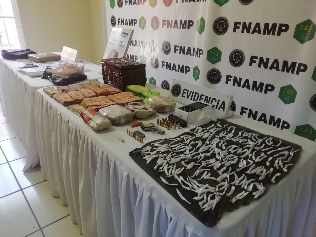 Dos miembros de la organización criminal MS-13  fueron detenidos  por la FNAMP  y la PMOP