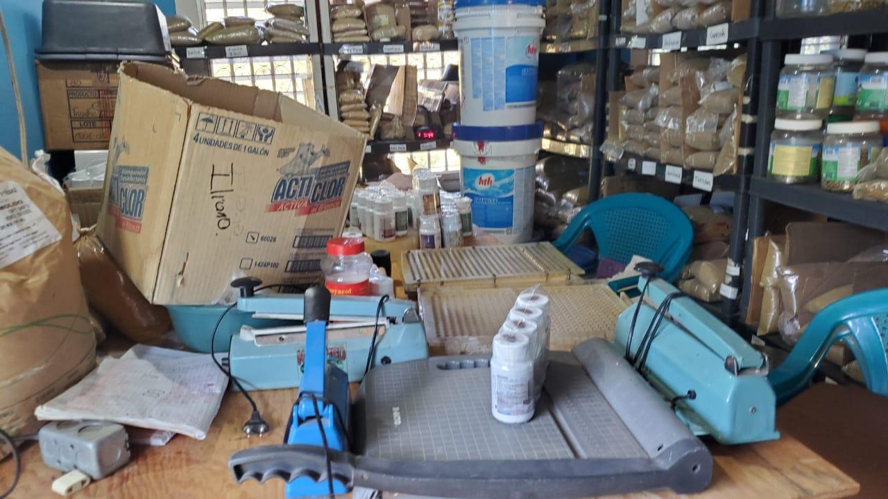 Policía realiza desarticulación de laboratorio de medicamentos clandestinos  a un ciudadano nicaragüense