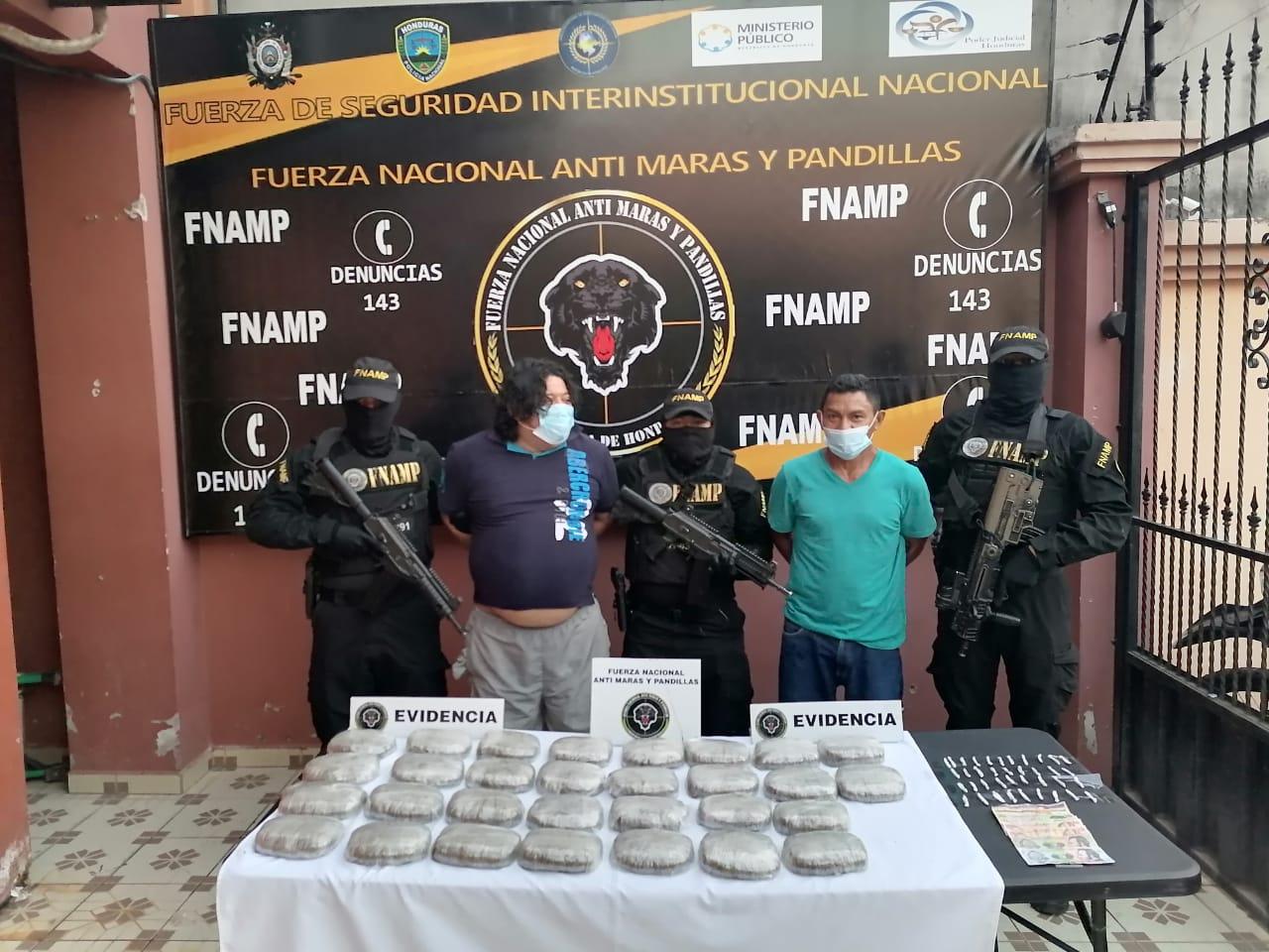 Interceptan Cargamento de Droga en El Corpus, Choluteca.