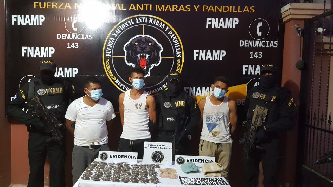 Capturan Seis Presuntos Colaboradores del Narcotrafico en Choluteca.