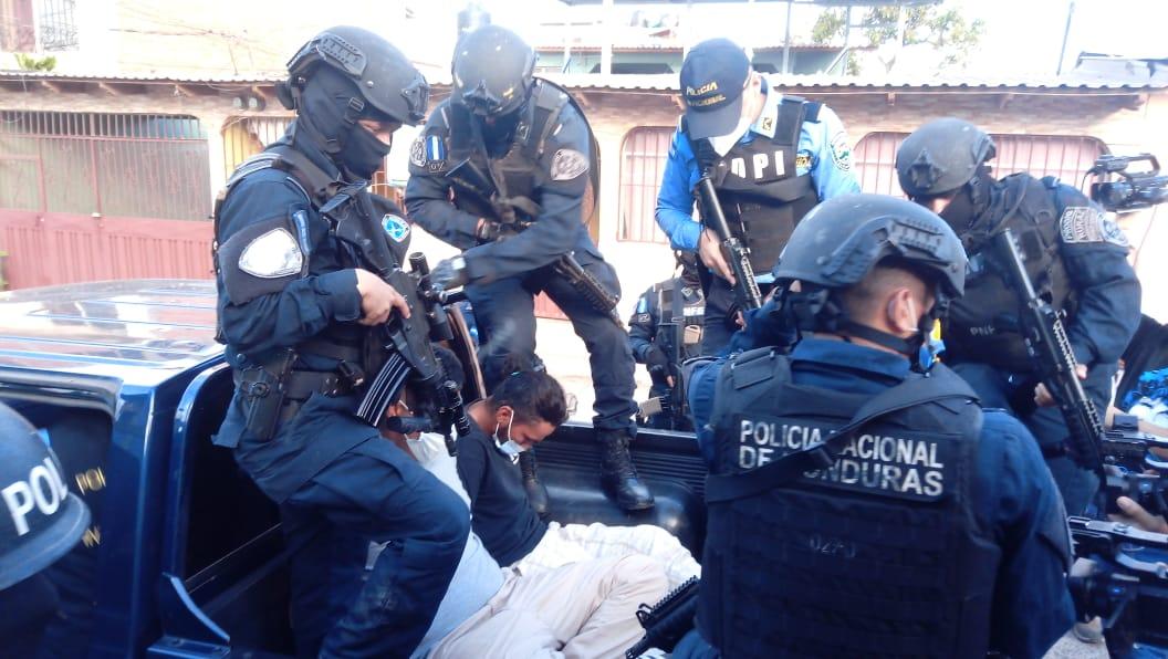Sospechosos son detenidos por diferentes delitos;  en el Territorio Nacional.
