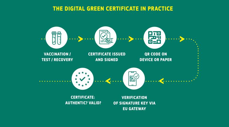 Certificado Verde Digital; Así podremos viajar tras recibir la vacuna contra el Covid-19