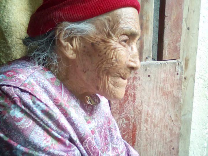 Doña Anselma Valladares cumple  116 años de vida.