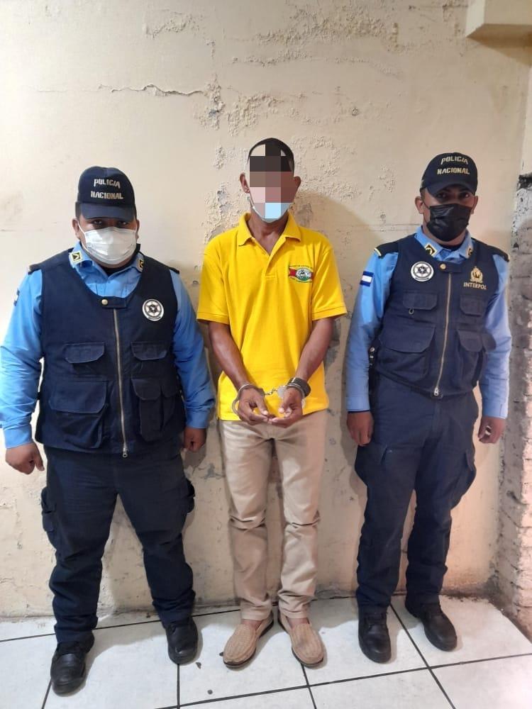 Policía Arresta a Presunto Homicida en el Centro de la Ciudad de Choluteca