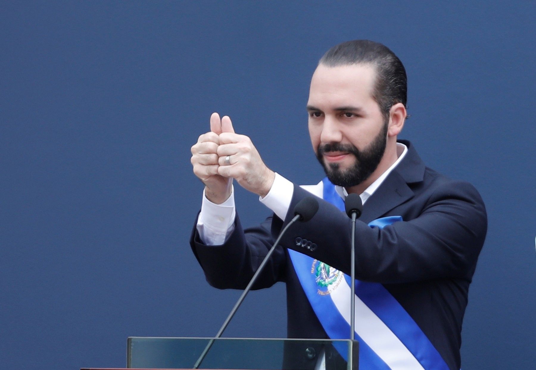 «NAYIB BUKELE» PRESIDENTE DE EL SALVADOR