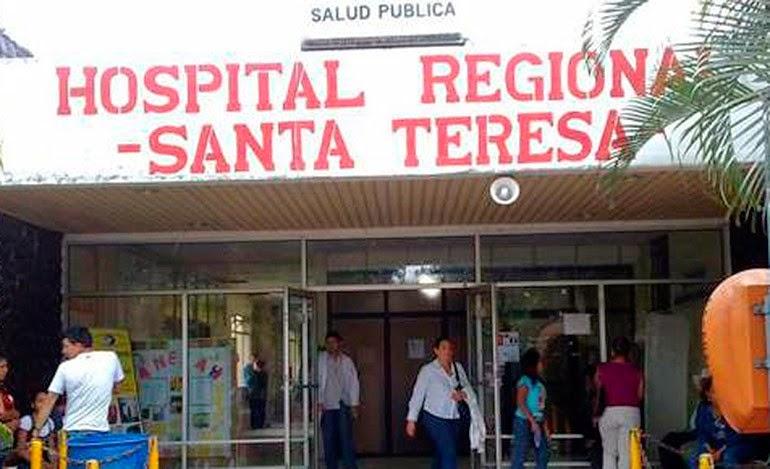 Hospital Santa Teresa Realiza trabajos de remodelación en salas de Labor y Parto.