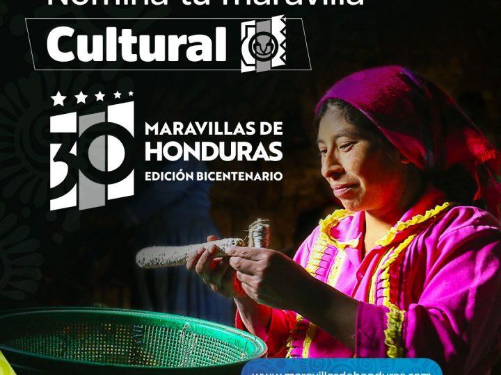Hoy cierra la etapa de postulación del concurso Las 30 Maravillas de Honduras, edición Bicentenario.