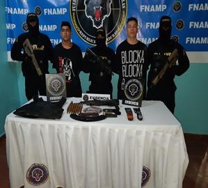 CONDENAN A DOS MIEMBROS DE ESTRUCTURAS CRIMINALES A  18 Y 16 AÑOS DE PRISIÓN