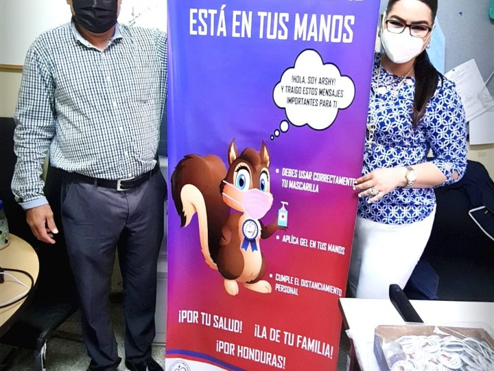HOSPITAL DEL TÓRAX LANZA CAMPAÑA DE CONCIENTIZACIÓN CON SU MASCOTA (ARSHY)